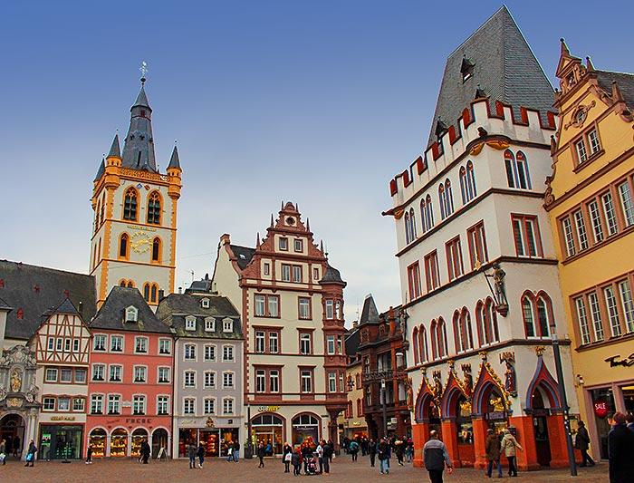 Historischer Marktplatz Trier
