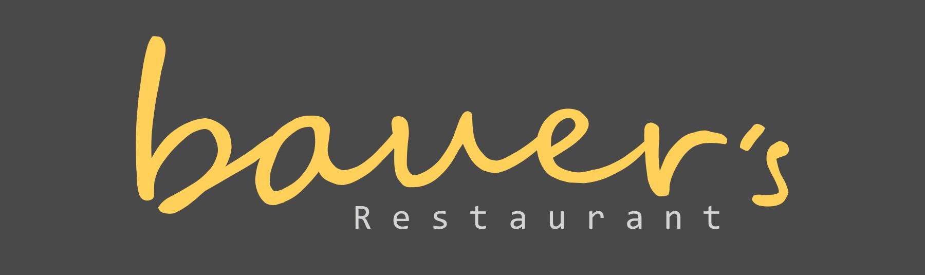 Logo Bauer´s Restaurant